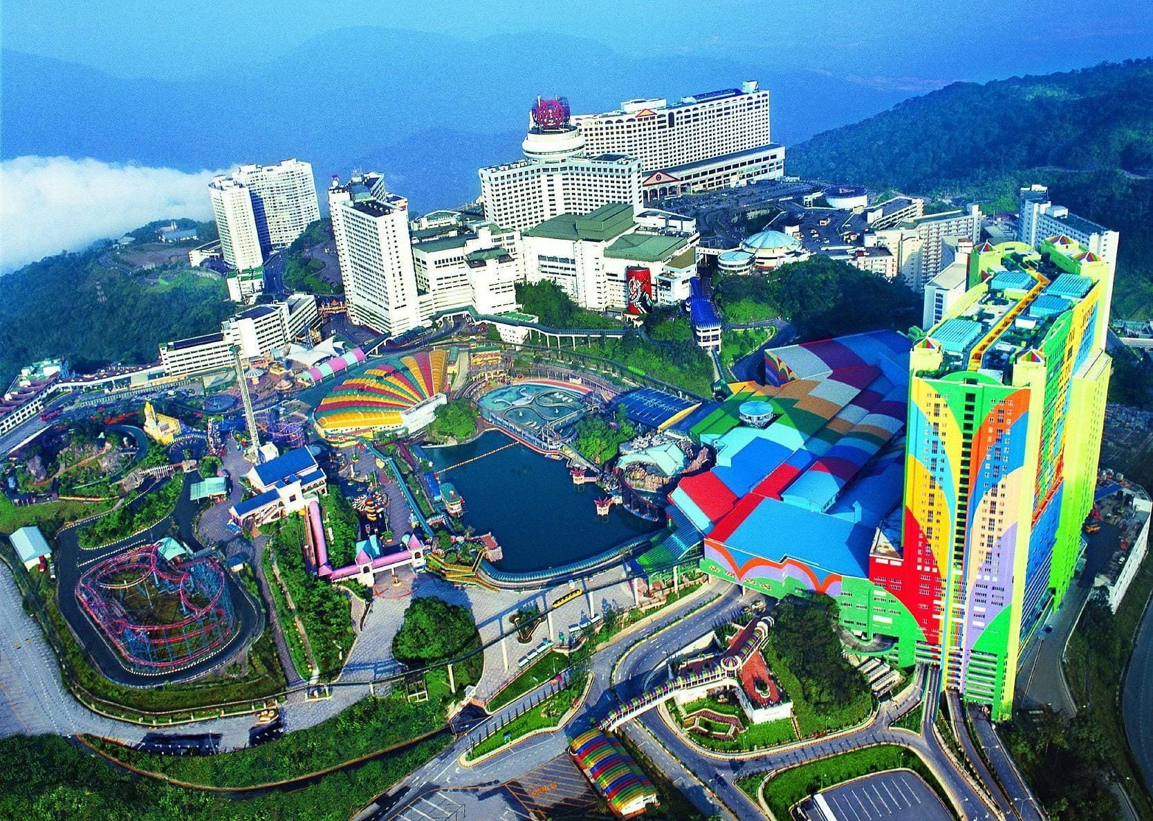 مدينة الملاهي في ماليزيا