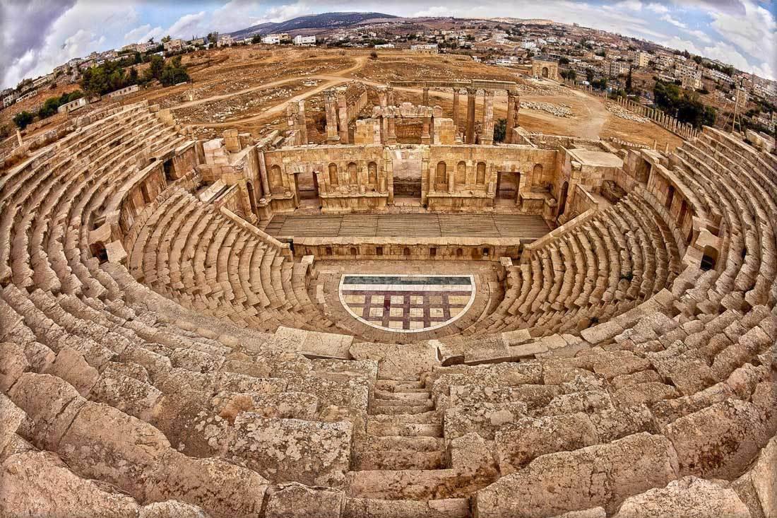 مدينة جرش الأردنية