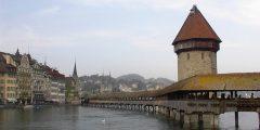 مدينة لوسيرن في سويسرا