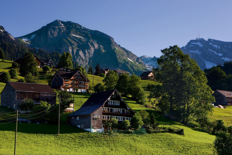 مدينة هايدي في سويسرا
