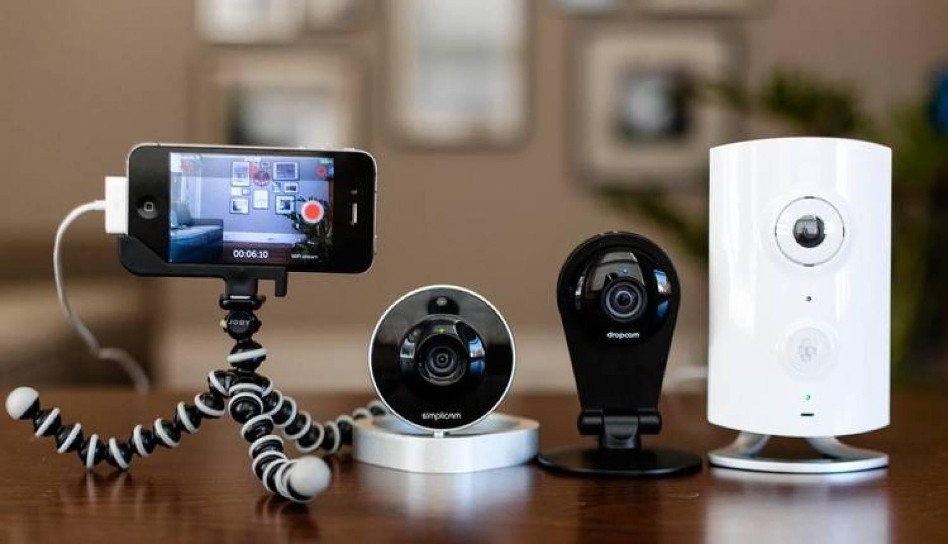 مشاهدة كاميرات المراقبة عبر الموبايل