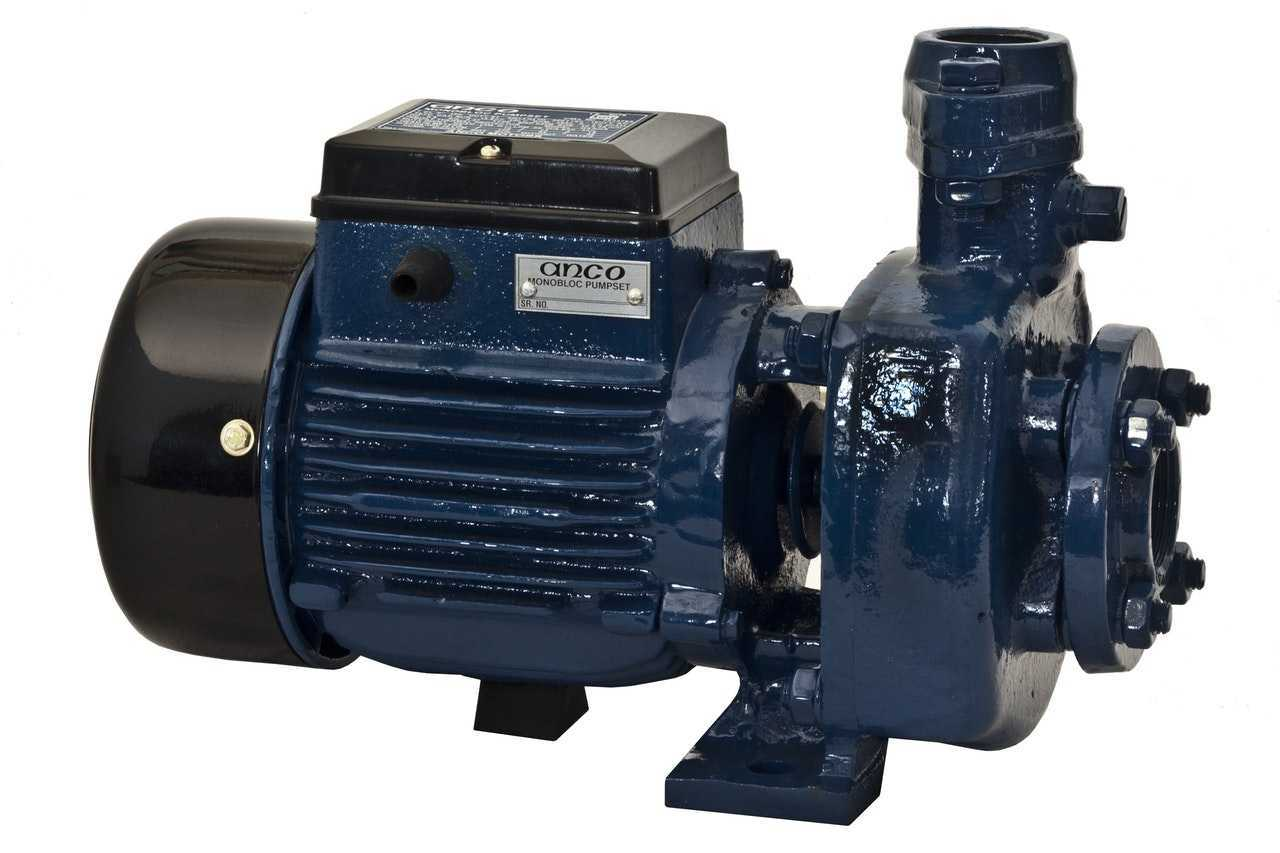 مكونات موتور المياه