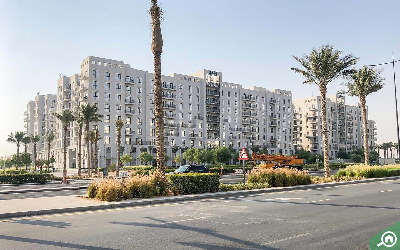 منطقة تاون سكوير في إمارة دبي