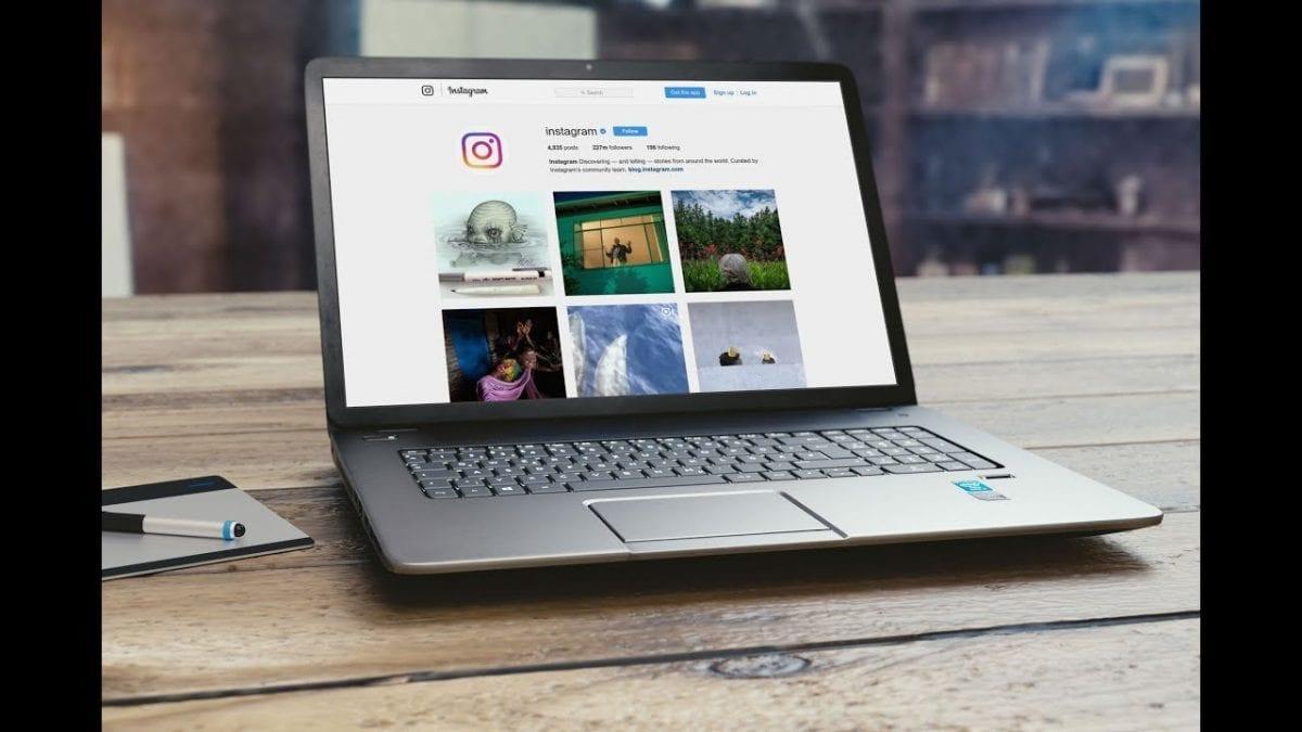 كيفية عمل منشور على Instagram من كمبيوتر
