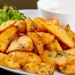 السعرات الحرارية في البطاطا المشوية
