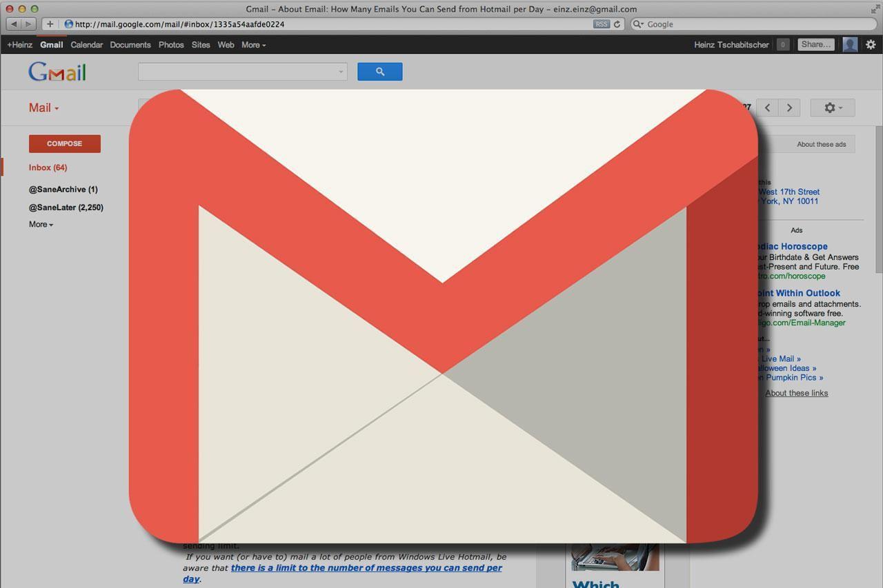 ما هي طريقة عمل إيميل جوجل