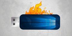 برنامج حرق ويندوز 10 على فلاشة