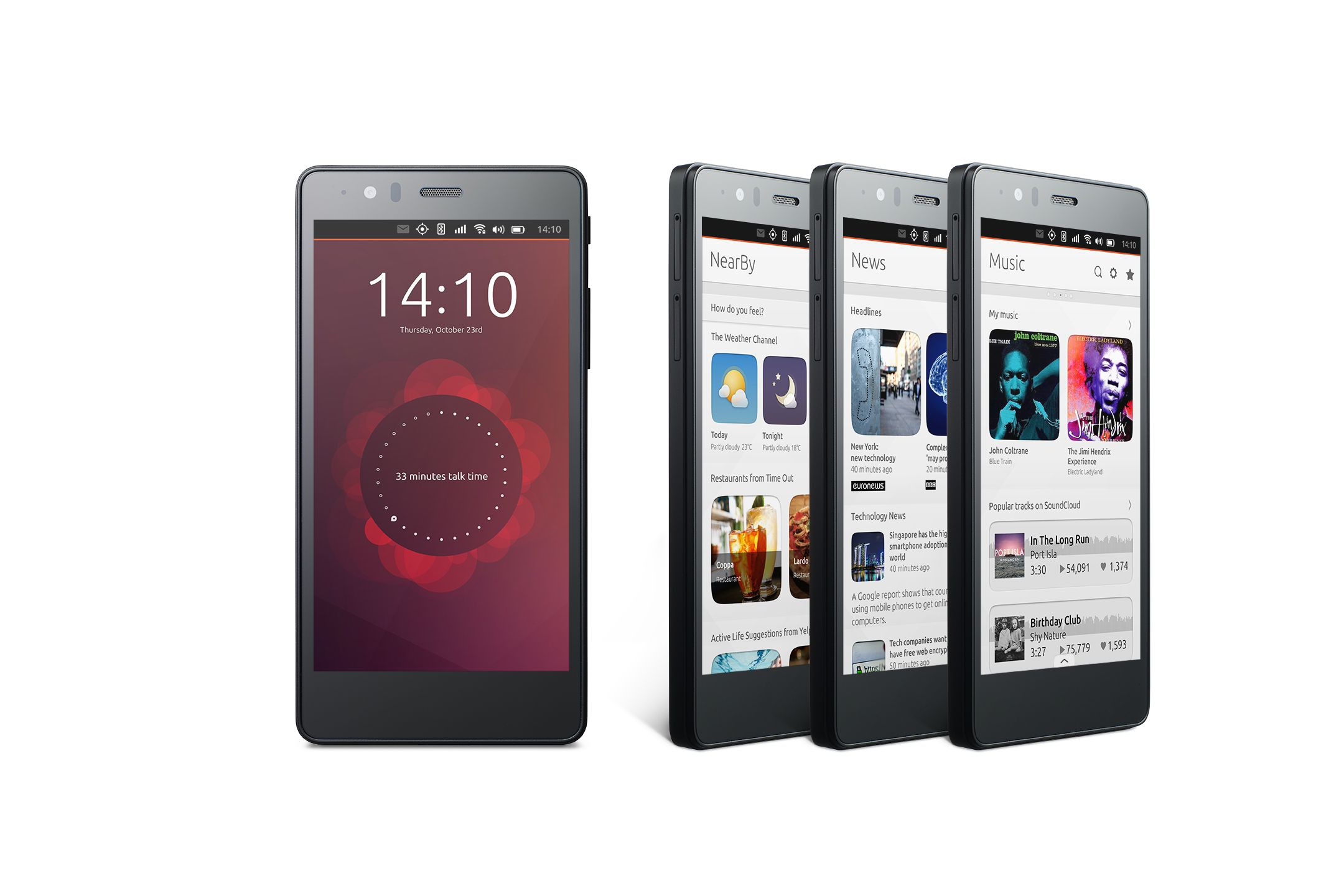 جوال BQ Aquaris E5 HD Ubuntu Edition