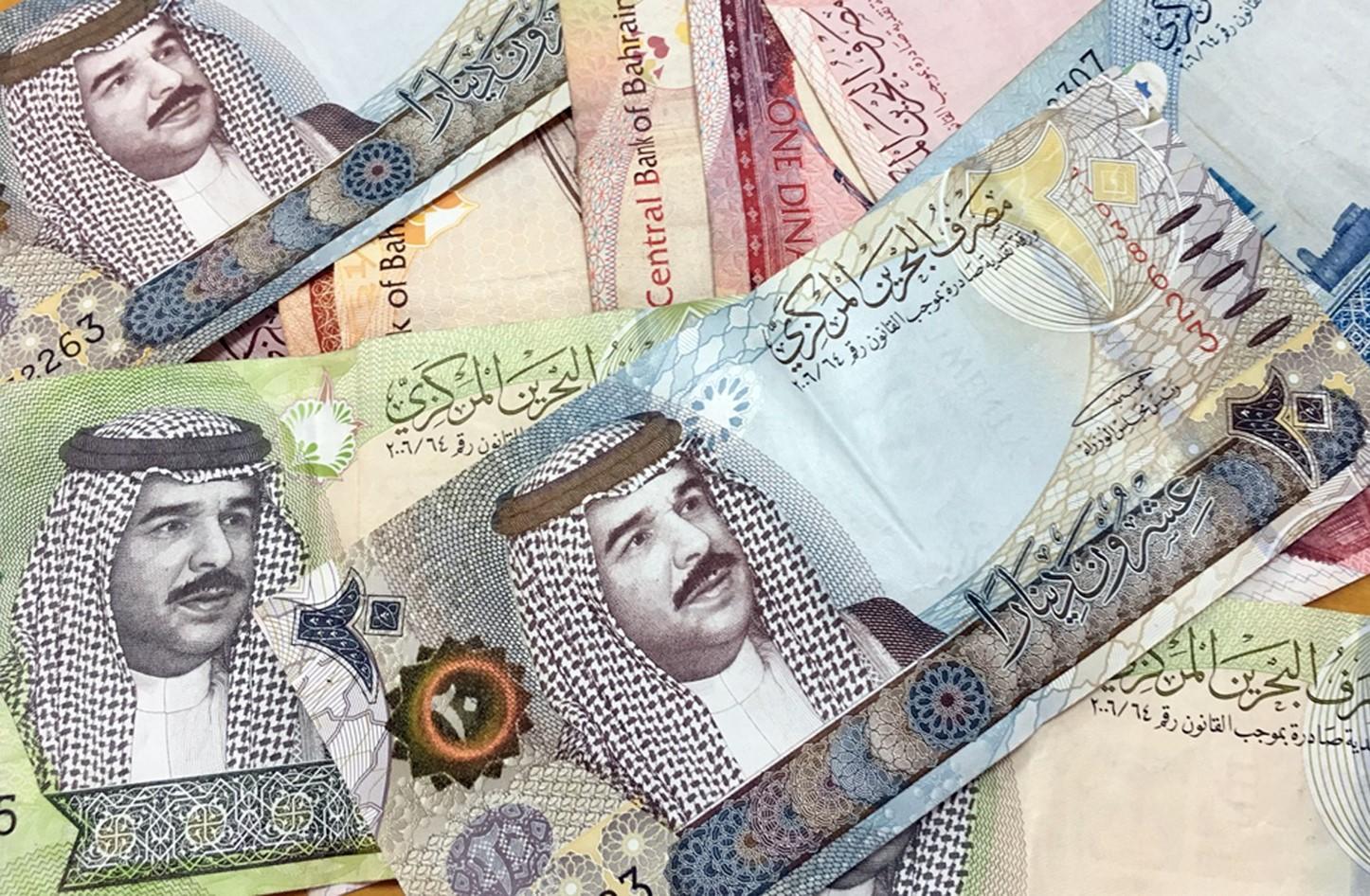 سعر الدينار البحريني مقابل الدولار : عملة البحرين