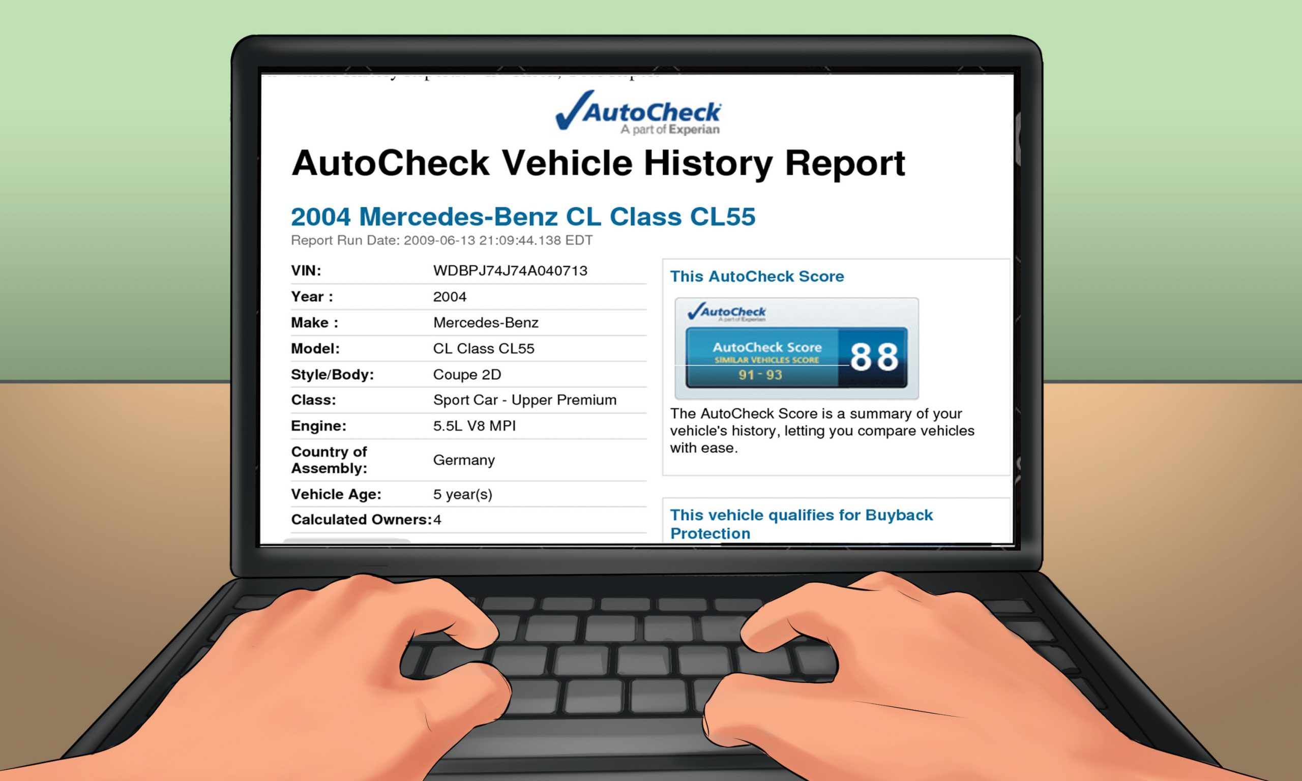 كيف تقرأ تقرير AutoCheck
